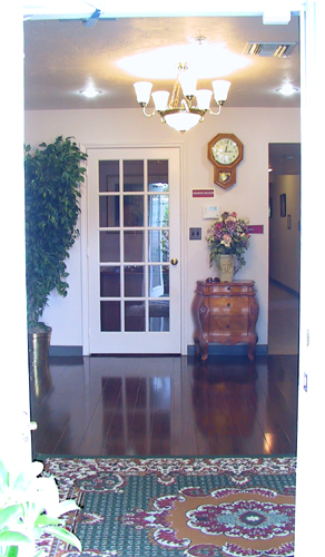 Villa Court – view in through front doors. | Villa Court Assisted ...